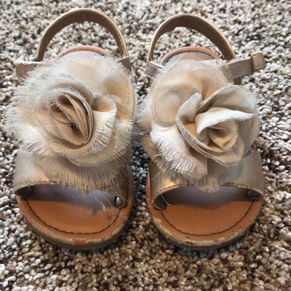 Cat & Jack Other - Cat & Jack floral sandals
